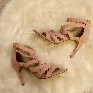 🎇 Jessica Simpson Nude Blush Heels Sz 10M